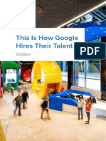 White Paper How Google Hires Their Talent