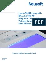 Lunar RF Diagnostic X-ray High Voltage Generator User Manual.pdf