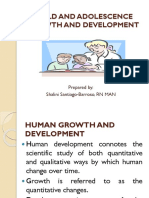 Child and Adolescent Growth and Development [Autosaved]