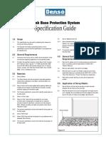 Denso Tank Base Protection System Spec