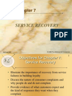 Chap07 Service Recovery