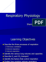 Respiratory Physiology Posted