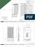 Assembly Drawing (Heatsink, Amplifier, Transformer, 080-112-9x)
