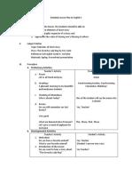 Detailed Lesson Plan in English 4.Tjane