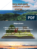 History Solar-Energy