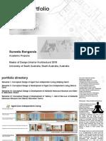 Design Portfolio (Academic)