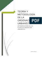 Determinaciones de Los Planes de Ordenacion Urbanistica_criollo Cristina
