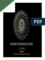 Incident Response System Manual JK Sinha Ppt