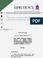 G.R. No. 180226 (Notice) | Paterno v. Arcaya-Chua