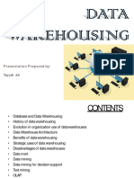 Data Warehousing Chapter 1