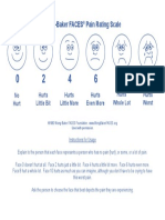 FACES English Blue W-Instructions