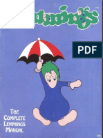 Lemmings Manual DOS En
