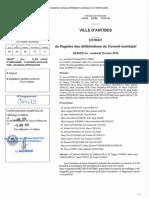 Révision Du PLU - Délibération d'Approbation Avril 2019