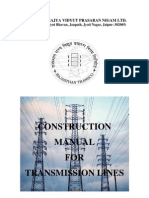 Construction Manual for Transmission Lines