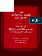 The medical book of lists  a primer of differential diagnosis in.pdf