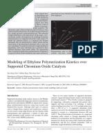 Choi 2004 Modeling of Ethylene Polymerization
