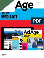 Ratecard:Media Kit - Ad Age 2019