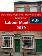 Rochdale Borough Labour Party Manifesto 2019