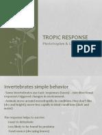 Biology - Tropic Response