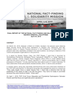 Negros  Oriental Mass Killings Fact Finding Report