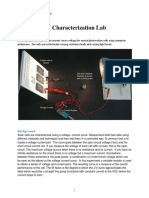 PV Characterization Lab1