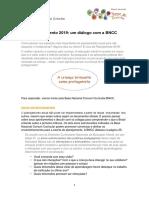 Planejamento 2019 Um Diálogo Com BNCC