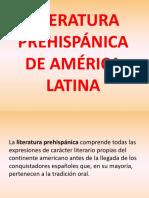 12. Literatura Prehispánica de América Latina