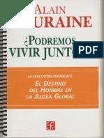Touraine - Podremos vivir juntos.pdf