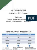 14 - i verbi modali