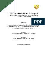 ANALISIS DEL RIESGO PAIS DEL ECUADOR Y SU INCIDENCIA EN LA IED 2010-2016 (1).pdf