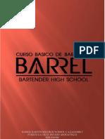 Guia Curso Basico Bartender - Barrel Bartender High School
