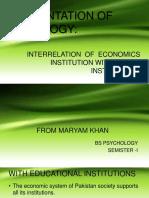 Presentation of Socialogy