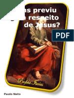 Isaías Previu Algo a Respeito de Jesus-eBook