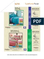 Seasons List Bed Sheets