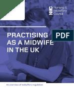 Midwifery in UK Inggris