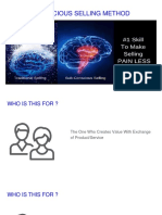 Webinar PPT Final Version- The Sub Conscious Selling