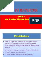 PP. Visum Et Repertum