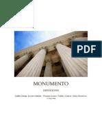 monumento definiciones