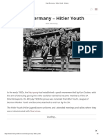 Nazi Germany - Hitler Youth - History