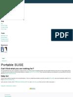 Portable Suse - Opensuse