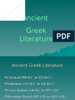 Greek Mythology - 1 | Ancient Greek Literature