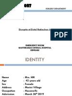 Case Report Dr. Mario