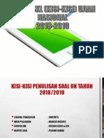 Bedah Skl Un 2018-2019