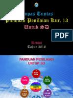 Panduan Penilaian Kur 2013 Revisi 2016 Sd