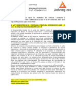 4° e 5° SEMESTRE 2019   PRODUÇÃO TEXTUAL INTERDISCIPLINAR   O caso da empresa Desentendida Modas S.A