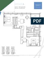 SKY Floor Plans (ALL) August 2018
