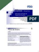 EQA5506 Aula 1 Projetos I Introducao