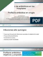 Profilaxis antibiótica en cirugía SADI 2017