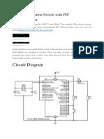Switch Programming Arduino