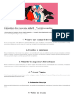 Intégration d'Un Nouveau Salarié _ l'Hu... en Prime - HR Voice - Toute l'Actu RH